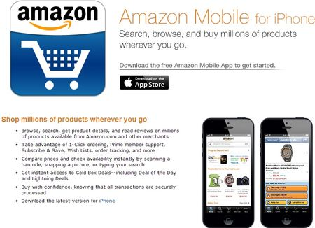 Amazone Mobile for iPhone