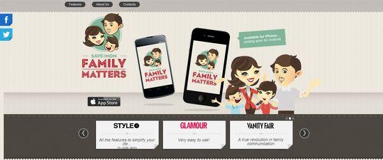 SaveTheMom.com homepage