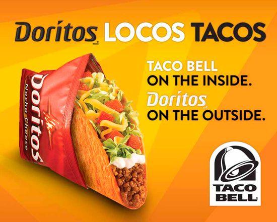 Taco Bell's Doritos Locos Taco 2