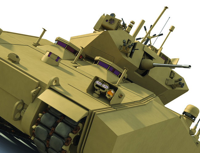 Building the Army's next-gen GVC Fighting Infantry Vehicle with a hybrid gas and electric system is a matter of saving valuable budget dollars during an era of fiscal belt-tightening