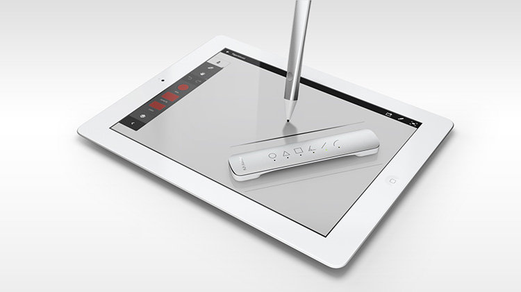 Designed by Ammunition, the pen is an aluminum stylus that can replace your finger on the iPad screen