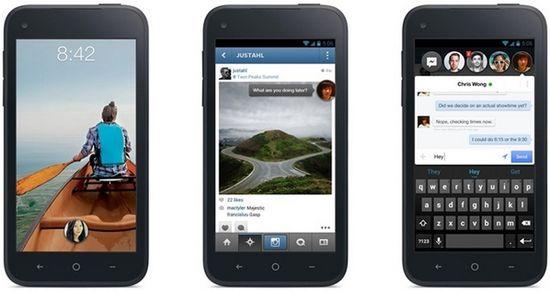 Facebook Home app screenshots