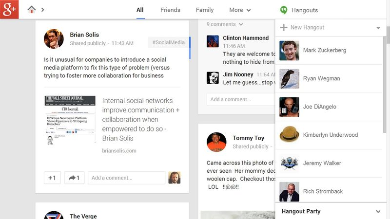 Google+'s new look now includes #HASHTAGS in updates to improve searches