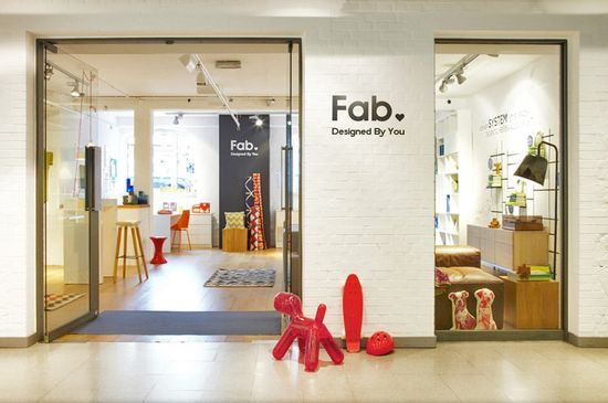 Goldberg says Fab's first store will be more like a showroom, where people can come to see products in person and sample materials