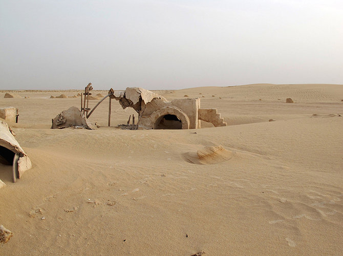 She traveled to the site and documented what had happened to the homestead in Luke's absence