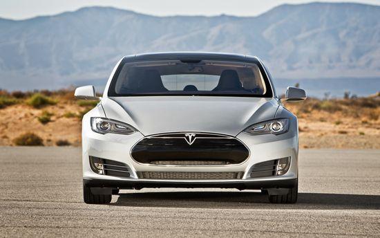 Tesla Motors Model S all-electric sedan 2