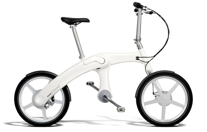 The Footloose chainless folding electric bike 1