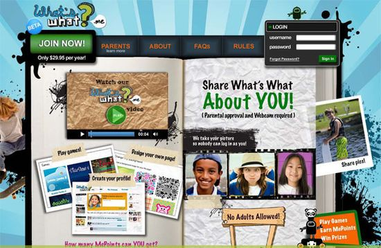 What's What website