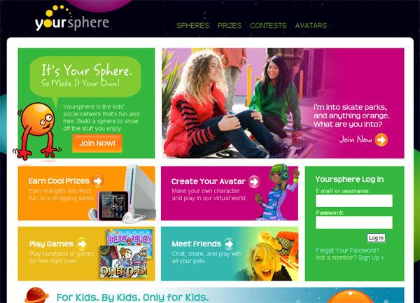 Yoursphere website