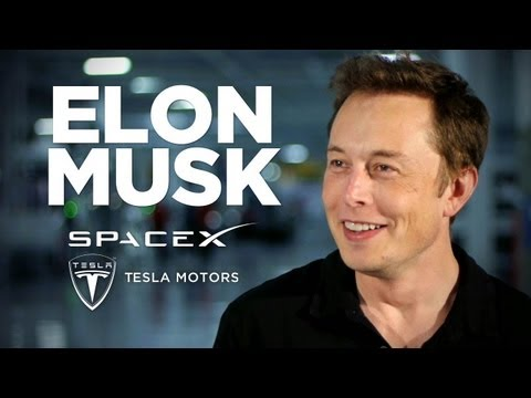 Elon Musk, founder and CEO of Tesla Motors and SpaceX