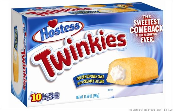 Hostess Twinkies make a comeback