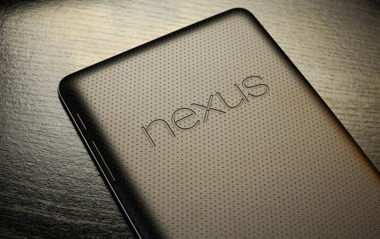 Back of second generation Nexus 7 tablet unveiled on July 24, 2013
