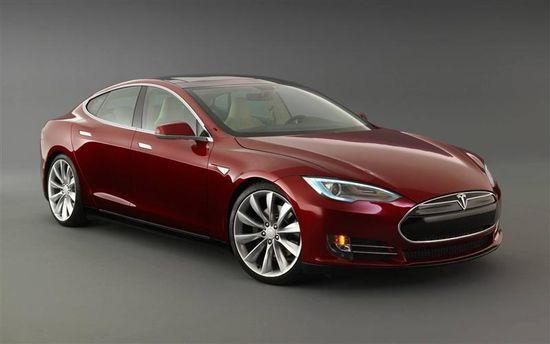 Tesla Motors Model S sedan B