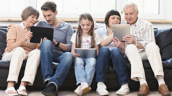 Family Social Networks
