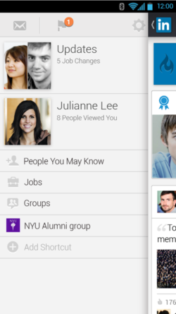 New LinkedIn mobile app for iOS and Android users 3