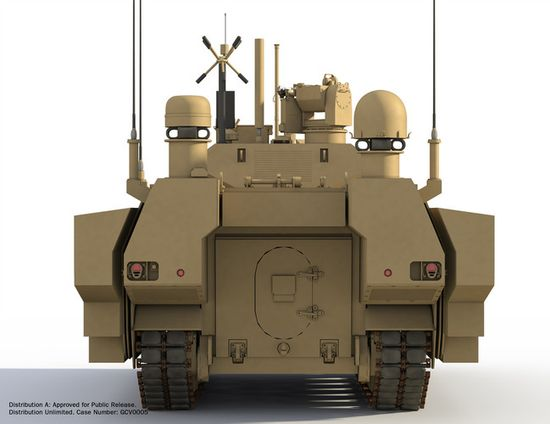 The GVC Fighting INfantry Vehicle works as a tank once a few basic accessories are added