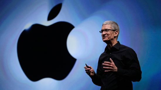 Apple CEO Tim Cook at WWDC 2013 introduces iOS 7