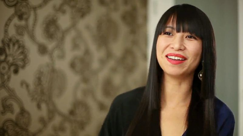 Shauna Mei MIT grad and CEO of AHAlife, a luxury items ecommerce site