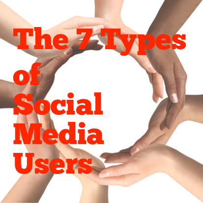 7 Types of Social Media Users