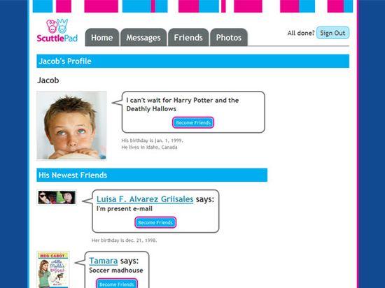 ScuttlePad website