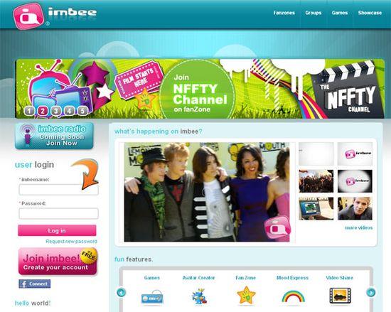 Imbee website