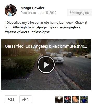 Margo Rowder post on Google+ 3