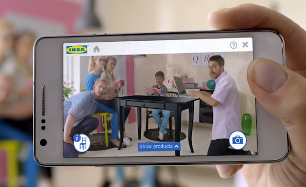 IKEA's virtual reality app 1