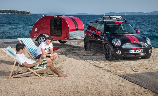 The Cowley Camper has a lot of square footage, but even more style. Photo by BMW Group