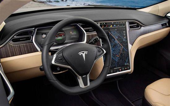 Tesla Motors Model S sedan D