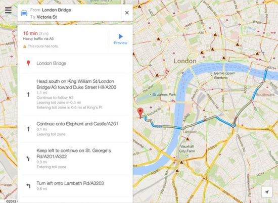 Apple's rumored iPad 5 will have vastly improved Google Map app