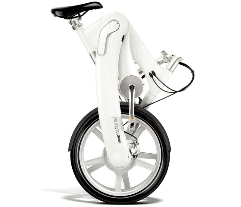 The Footloose chainless folding electric bike 3