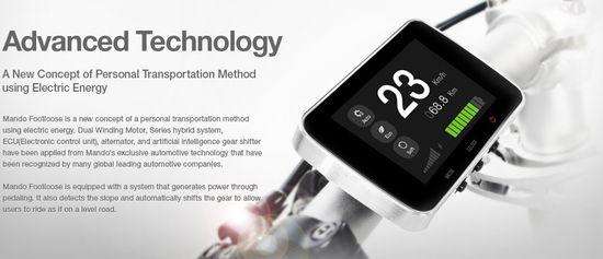 Mando Footlose Advanced Technology