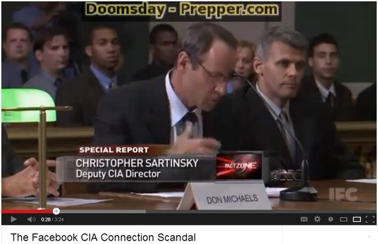 The Facebook CIA Connection Scandal