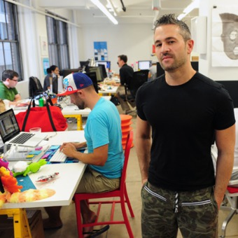 The $321 million face of Fab's Jason Goldberg. Fab raised the largest venture round of Q2 2013