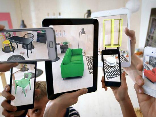 IKEA's virtual reality app 2