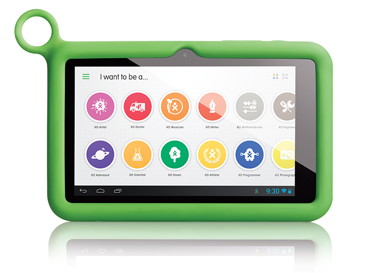 The XO Tablet comes pre-loaded with a large number of apps, games, and e-books that children might enjoy