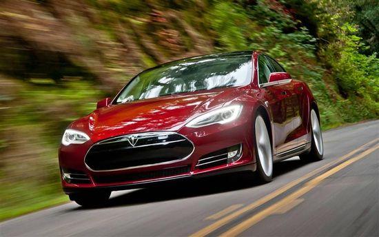 Tesla Motors Model S sedan C