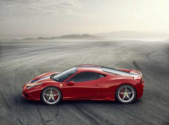 Ferrari-458-speciale-side-view
