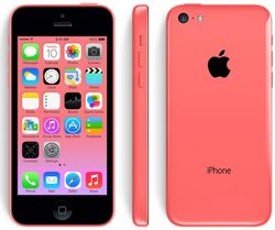 The iPhone 5C has a polycarbonate wrap-around back that will come in five colors -- green, white, blue, red, and yellow D
