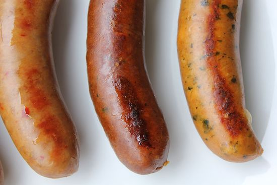 But what makes them particularly interesting is that each of these sausages have been designed specifically to pair with certain Dogfish Head beers