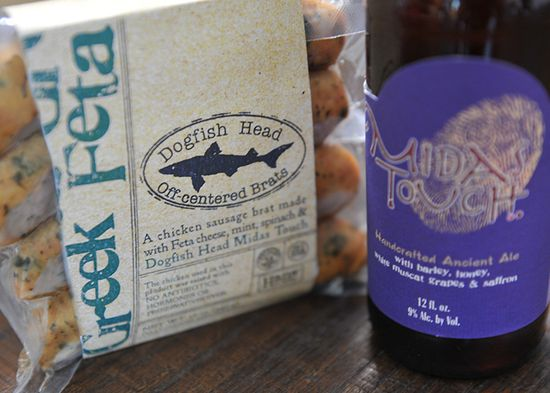 Even beers I wouldn't consider myself a fan of--like Midas Touch, which is considered somewhere between wine and mead--was particularly tasty as it bounced off the flavors of the Greek Feta's dairy kick