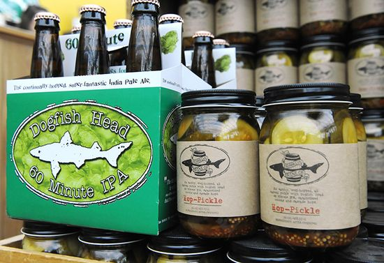 With all of these 'beer-centric foods' in place, Dogfish Head would like to be able to sell you a whole gastropub-level food and beer pairing to experience at home
