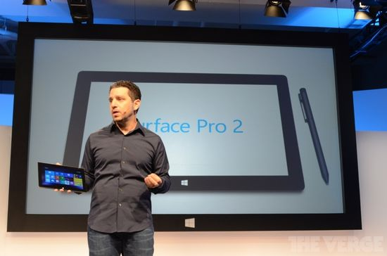 The Microsoft Surface Pro 2 tablet is comes equipped with a digitizing pen