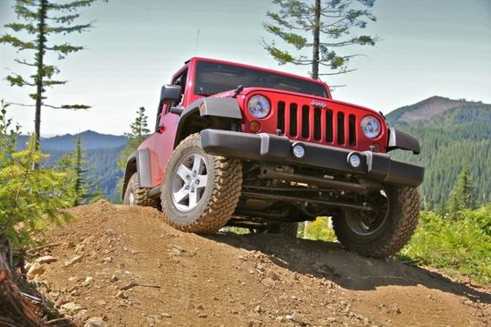 Jeep's marketing campaign message always demonstrate what the Jeep can do, like where it can take you, where others can't
