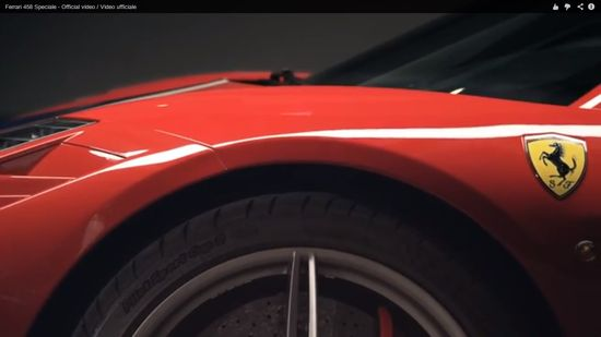 The Official Ferrari Speciale458 Video