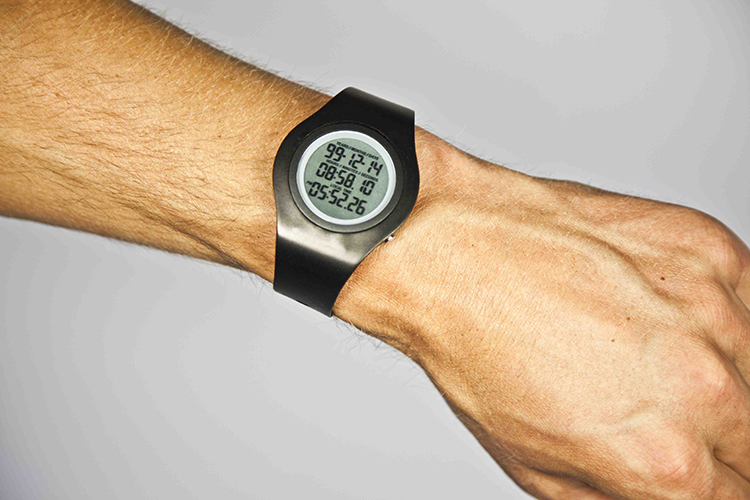 Now on Kickstarter, the Tikker, a digital watch that reminds you to live life to the fullest