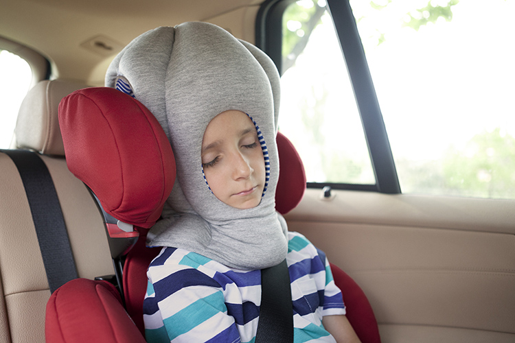 The kids' version features a larger mouth hole that will allow child Ostrich users to breath more easily