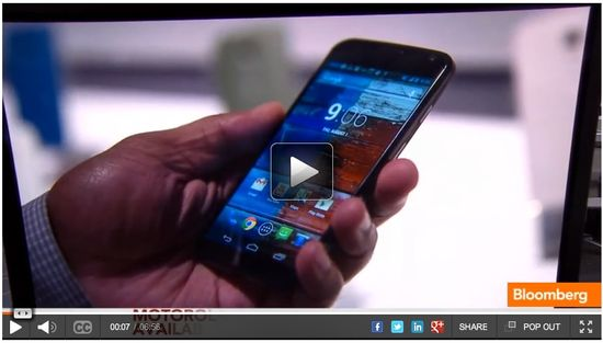 Bloomberg's panel of technology experts discusses Motorola's new Moto X smartphone