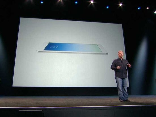 Phil Schiller, Apple V.P. Global Marketing, talks about the new iPad Air tablet