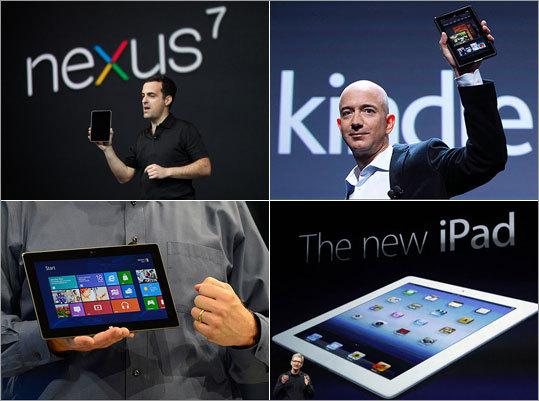 Major Tablet Vendors
